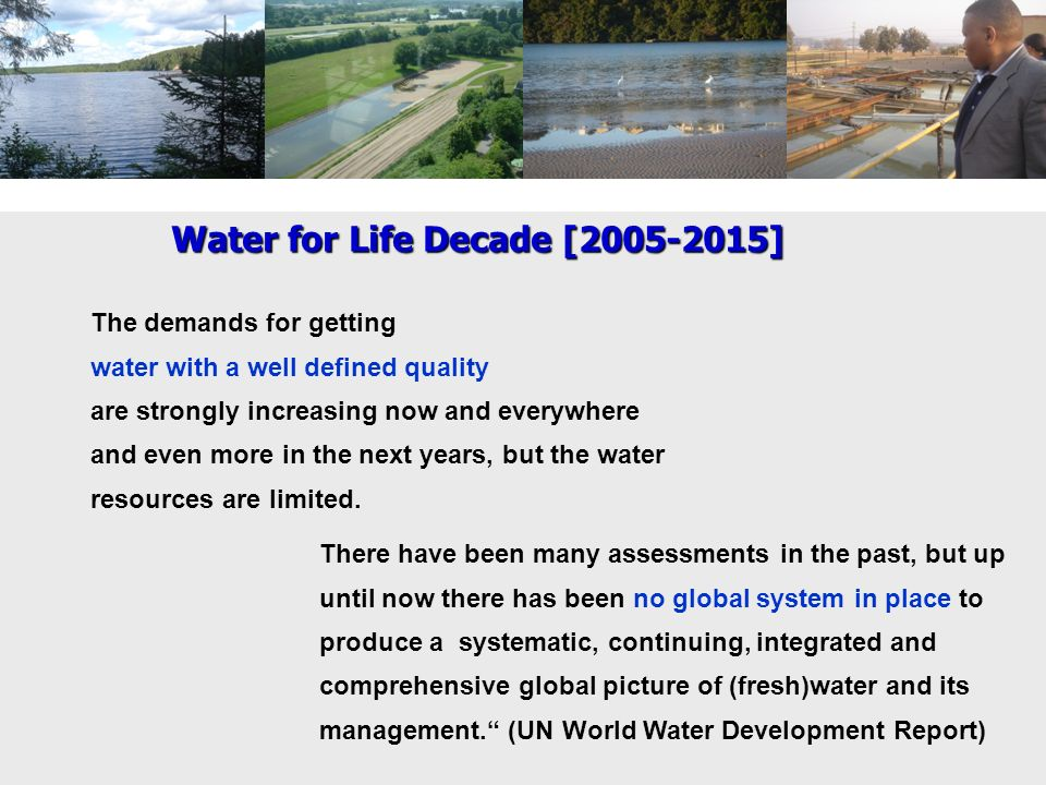 Water for Life Decade [2005-2015]